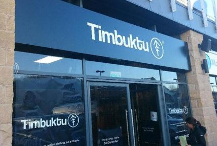 Timbuktu shop signage