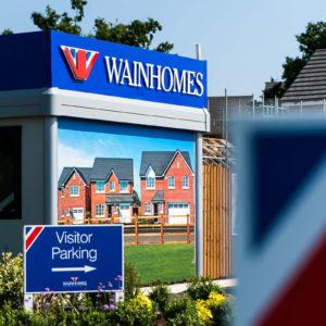 Wainhomes signage